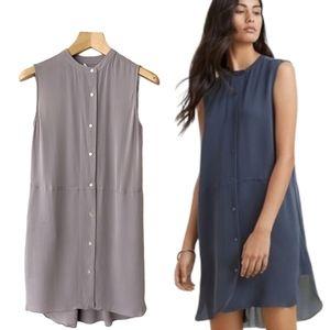Aritzia Wilfred Beauzelle Sleeveless Silk Dress